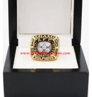 1984 Miami Dolphins America Football Conference Championship Ring, Custom Miami Dolphins Champions Ring