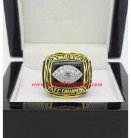 1988 Cincinnati Bengals America Football Conference Football Championship Ring, Custom Cincinnati Bengals Champions Ring