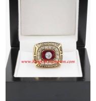 1990 Buffalo Bills America Football Conference Championship Ring, Custom Buffalo Bills Champions Ring
