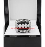 2002 Oakland Raiders America Football Conference Championship Ring, Custom Oakland Raiders Champions Ring