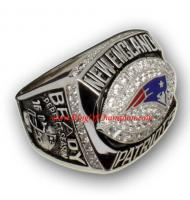 2007 New England Patriots America Football Conference Championship Ring, Custom New England Patriots Champions Ring