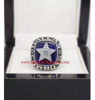 1970 Dallas Cowboys National Football Conference Championship Ring, Custom Dallas Cowboys Champions Ring