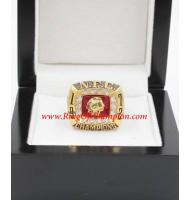 1972 Washington Redskins National Football Conference Championship Ring, Custom Washington Redskins Champions Ring