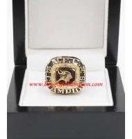 1974 Minnesota Vikings National Football Conference Championship Ring, Custom Minnesota Vikings Champions Ring