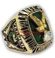 1980 Philadelphia Eagles National Football Conference Championship Ring, Custom Philadelphia Eagles Champions Ring