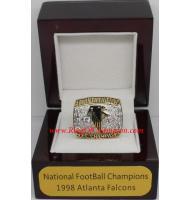 1998 Atlanta Falcons National Football Conference Championship Ring, Custom Atlanta Falcons Champions Ring