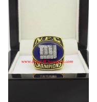 2000 New York Giants National Football Conference Championship Ring, Custom New York Giants Champions Ring