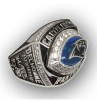 2003 Carolina Panthers National Football Conference Championship Ring, Custom Carolina Panthers Champions Ring