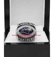 2003 Carolina Panthers National Football Conference Championship Ring (Stone Version)