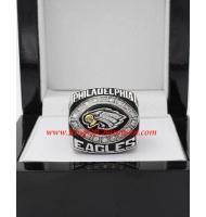 2004 Philadelphia Eagles National Football Conference Championship Ring, Custom Philadelphia Eagles Champions Ring
