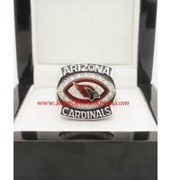 2008 Arizona Cardinals National Football Conference Championship Ring, Custom Arizona Cardinals Champions Ring