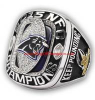 2015 Carolina Panthers National Football Conference Championship Ring, Custom Carolina Panthers Champions Ring