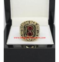 1967 Boston Red Sox America League Baseball Championship Ring, Custom Boston Red Sox Champions Ring
