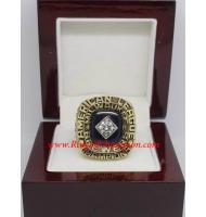 1982 Milwaukee Brewers America League Baseball Championship Ring, Custom Milwaukee Brewers Champions Ring