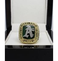 1988 Oakland Athletics America League Baseball Championship Ring, Custom Oakland Athletics Champions Ring
