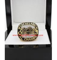 1995 Cleveland Indians America League Baseball Championship Ring, Custom Cleveland Indians Champions Ring