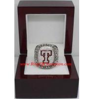 2010 Texas Rangers America League Baseball Championship Ring, Custom Texas Rangers Champions Ring