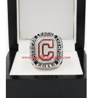 2016 Cleveland Indians America League Championship Replica Ring, Custom Cleveland Indians Champions Ring