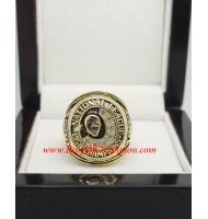 1958 Milwaukee Braves National League Baseball Championship Ring, Custom Milwaukee Braves Champions Ring