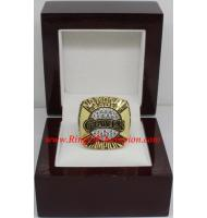 1989 San Francisco Giants National League Baseball Championship Ring, Custom San Francisco Giants Champions Ring