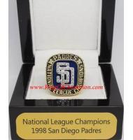 1998 San Diego Padres National League Baseball Championship Ring, Custom San Diego Padres Champions Ring