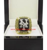 2000 New York Mets National League Baseball Championship Ring, Custom New York Mets Champions Ring