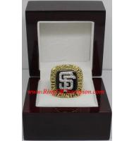 2002 San Francisco Giants National League Baseball Championship Ring, Custom San Francisco Giants Champions Ring