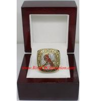2004 St. Louis Cardinals National League Baseball Championship Ring, Custom St. Louis Cardinals Champions Ring