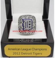 2012 Detroit Tigers American League Baseball Championship Ring, Custom Detroit Tigers Champions Ring