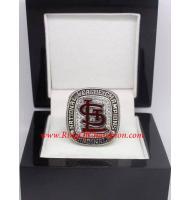 2013 St. Louis Cardinals National League Baseball Championship Ring, Custom St. Louis Cardinals Champions Ring