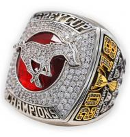 2018 Calgary Stampeders The 106th CFL Men's Football Grey Cup Championship Ring