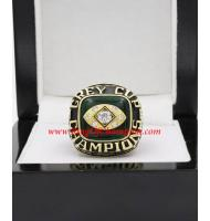1979 Edmonton Eskimos The 67th Grey Cup Championship Ring, Custom Edmonton Eskimos Champions Ring