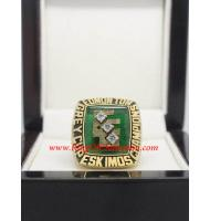 1980 Edmonton Eskimos the 68th Grey Cup Men's Football Championship Ring, Custom Edmonton Eskimo Champions Ring