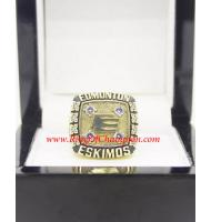 1981 Edmonton Eskimos The 69th Grey Cup Championship Ring, Custom Edmonton Eskimos Champions Ring