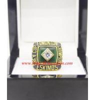 1982 Edmonton Eskimos The 70th Grey Cup Championship Ring, Custom Edmonton Eskimos Champions Ring