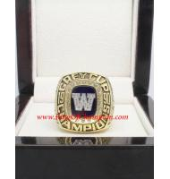 1990 Winnipeg Blue Bombers The 78th Grey Cup Football Championship Ring, Custom Winnipeg Blue Bombers Champions Ring