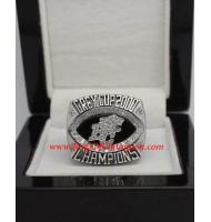 2000 BC Lions The 88th Grey Cup Championship Ring, Custom BC Lions Champions Ring
