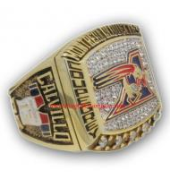 2002 Calgary Stampeders The 90th Grey Cup Championship Ring, Custom Calgary Stampeders Champions Ring