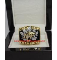 2006 BC Lions The 94th Grey Cup Championship Ring, Custom BC Lions Champions Ring