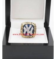 1996 New York Yankees World Series Championship Ring, Custom New York Yankees Champions Ring