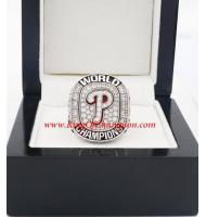 2008 Philadelphia Phillies World Series Championship Ring, Custom Philadelphia PhilliesChampions Ring
