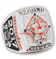 2017 Houston Astros Men's Baseball World Series Championship FAN Ring