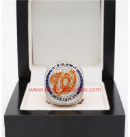 MLB 2019 Washington Nationals Men's Baseball World Series Replica Championship Ring