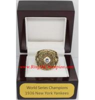 1936 New York Yankees World Series Championship Ring, Custom New York Yankees Champions Ring
