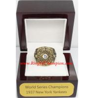 1937 New York Yankees World Series Championship Ring, Custom New York Yankees Champions Ring