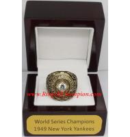 1949 New York Yankees World Series Championship Ring, Custom New York Yankees Champions Ring