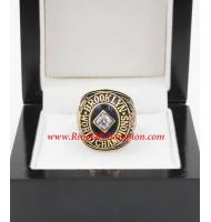 1955 Los Angeles Dodgers World Series Championship Ring, Custom Los Angeles Dodgers Champions Ring