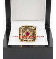 1957 Milwaukee Braves World Series Championship Ring, Custom Milwaukee Braves Champions Ring
