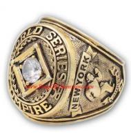 1958 New York Yankees Umpire World Series Championship Ring, Custom New York Yankees Champions Ring