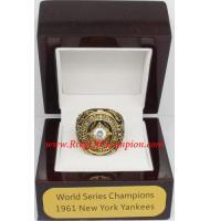 1961 New York Yankees World Series Championship Ring, Custom New York Yankees Champions Ring